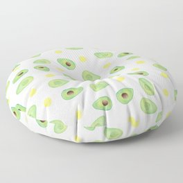 Avocados & Eggs Floor Pillow