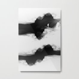 Hello from the The White World Metal Print