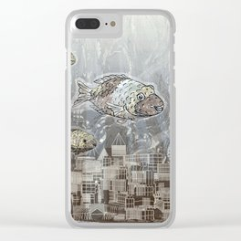 Deep in the Ocean Clear iPhone Case