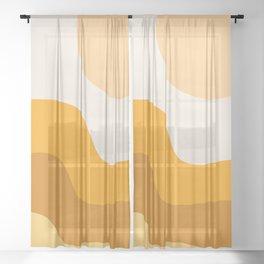 Sun Dunes 01 Sheer Curtain