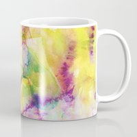 island Mugs featuring Island by Amy Sia