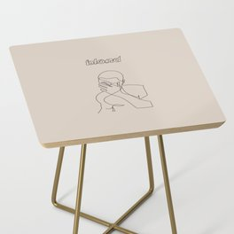 Frank | Blond Side Table