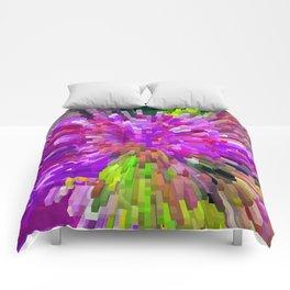 Violet Burst Comforters