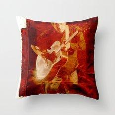 M. Ward Throw Pillow
