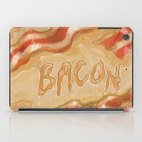 bacon iPad Cases featuring Bacon by Kristin Frenzel