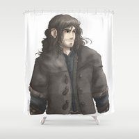 kili Shower Curtains featuring Kili  by AlyTheKitten