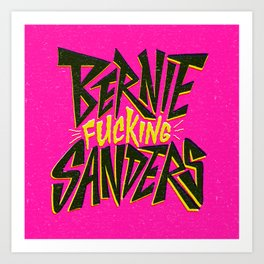 Bernie Sanders Art Print