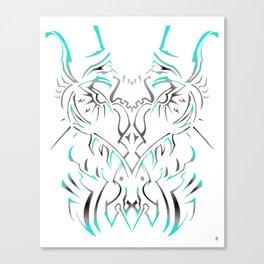 Cakaw Invert Canvas Print