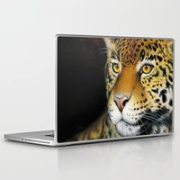 jaguar Laptop & iPad Skins featuring Jaguar by Claudia Hahn