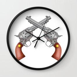 Pistols Wall Clock