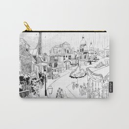 Madeline Montmartre Black&White Carry-All Pouch