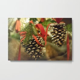 Longwood Gardens Christmas Series 95 Metal Print