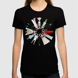 Audrey Hepburn Fashion (Scattered) T-shirt