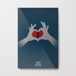 I  Heart NJ Metal Print