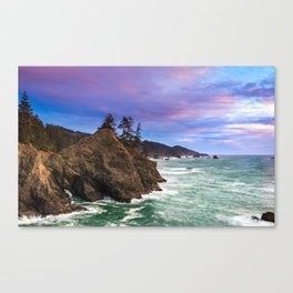 Thunder Rock Cove Sunset Canvas Print