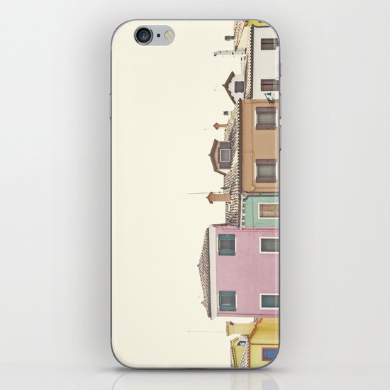 Colored Houses iPhone & iPod Skin