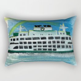 Sailing on Heavenly Seas Rectangular Pillow