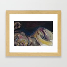 webcam Framed Art Print