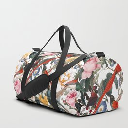 Floral and Birds XXXV Duffle Bag