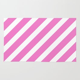 Basic Stripes Pink Rug