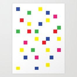 Blocks Set Art Print