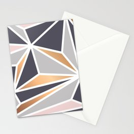 Geometry Gold 047 Stationery Cards
