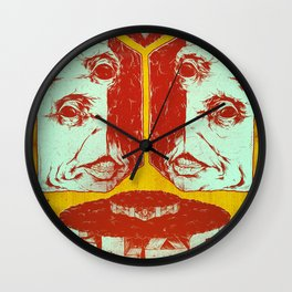 Slag Box 2 Wall Clock