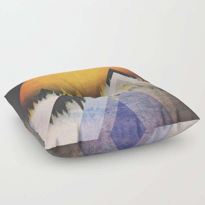 Fractions B15 Floor Pillow
