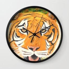L'amour couleur d'automne Wall Clock