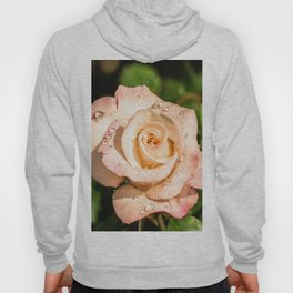 The light pink rose Hoody