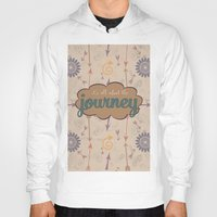journey Hoodies featuring Journey by Skuishy