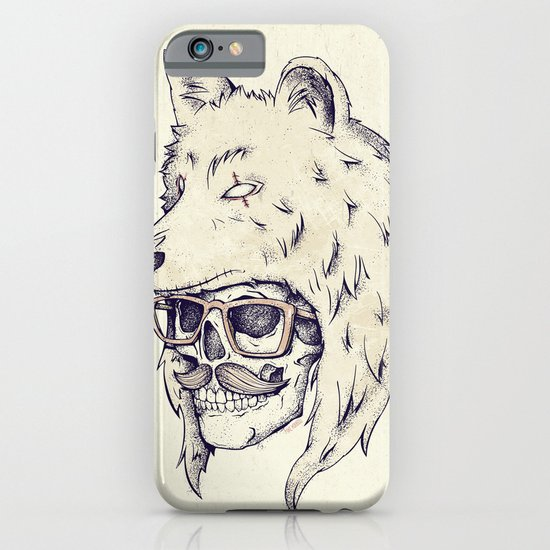 WOLF HAT iPhone & iPod Case