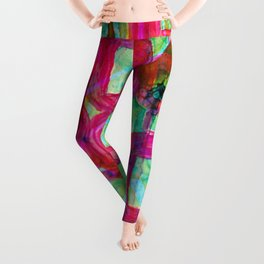 Yeah, Let's Play and Be Happy! Leggings