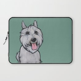 Levi the Miniature Schnauzer Laptop Sleeve
