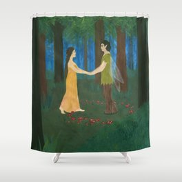 Come With Me.... Shower Curtain