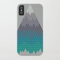 geology iPhone & iPod Cases featuring Many Mountains by Rick Crane