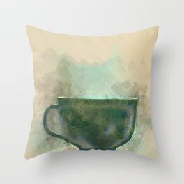 One cup  Throw Pillow