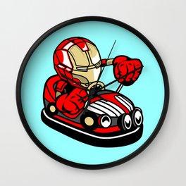 Iron Car Toy – Illu from Dan Roach Wall Clock
