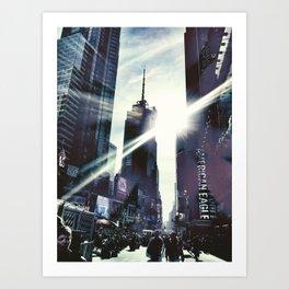 New York by iPhone 3 Art Print