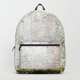 Abstract wall red painting Backpack