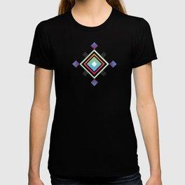 Abstract geometric indigenous symbol T-shirt