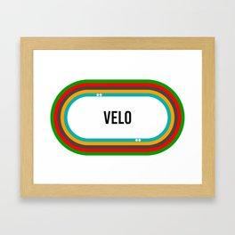 VELO Framed Art Print