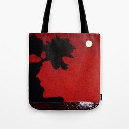 Red Skies at Night Tote Bag