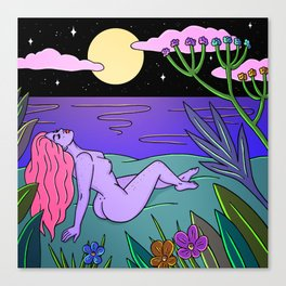 NIGHTSWIMMING Canvas Print