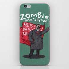 Zombie Lenin iPhone & iPod Skin