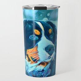Photo Of Lovely Dog Travel Mug