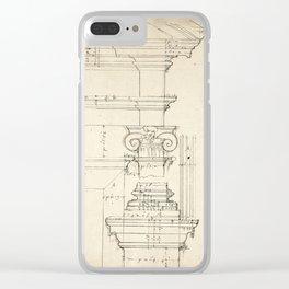 Column Architecture Clear iPhone Case