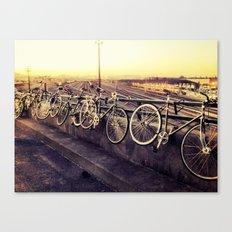 bike love  Canvas Print