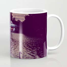 Silhouette of a Swan Coffee Mug