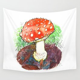 The Perfect Mushroom Wall Tapestry